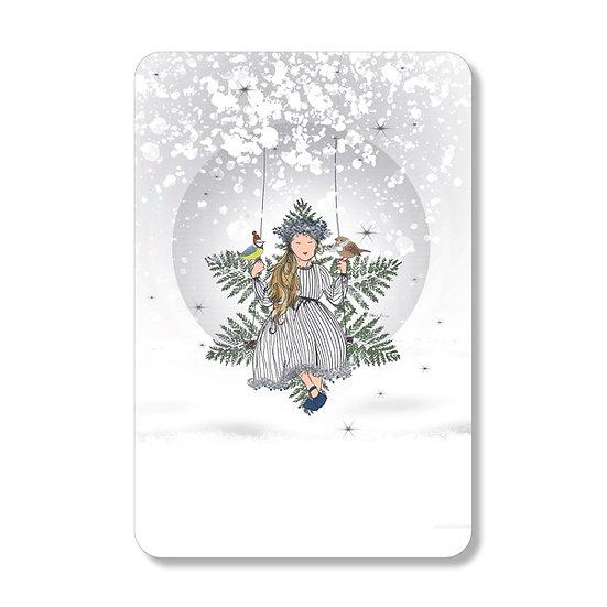 Carte princesse des neiges
