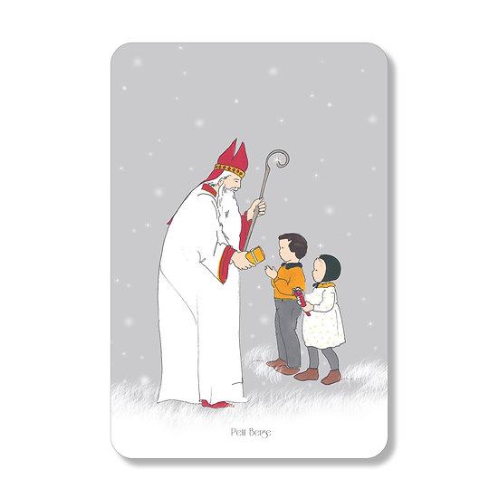 Carte Saint Nicolas