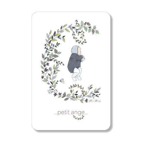 "Grande Carte ""...Petit Ange..."""