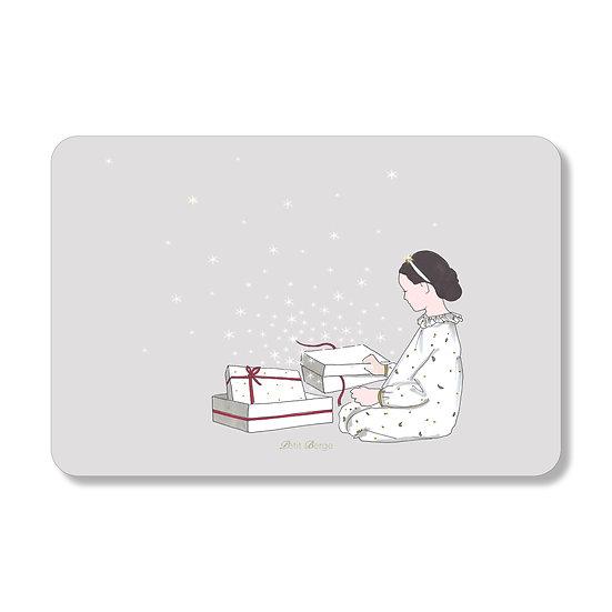 Carte Matin de Noël