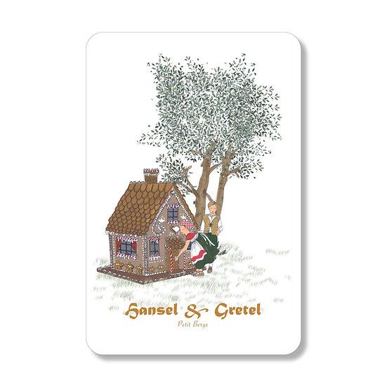 Carte Hansel et Gretel