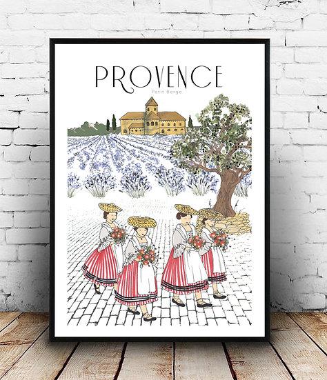 Affiche Provence