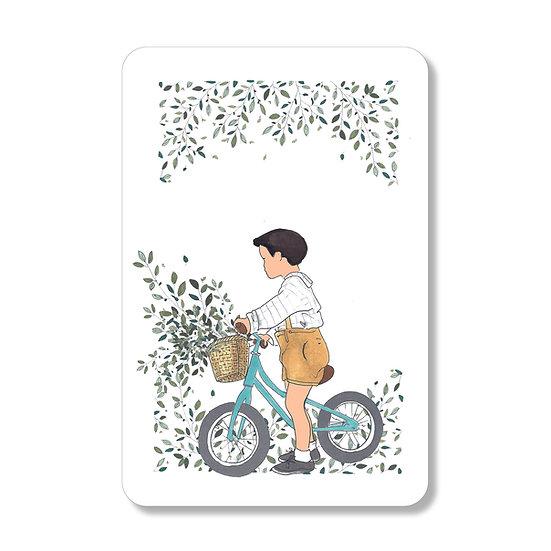 carte vélo garçon