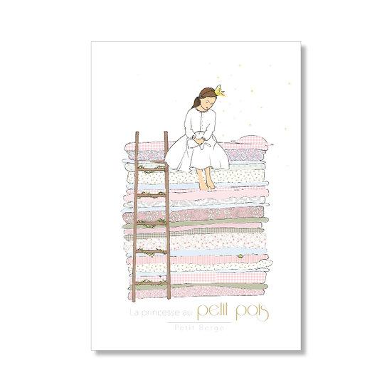 Affiche A5 du Conte de la Princesse au Petit Pois