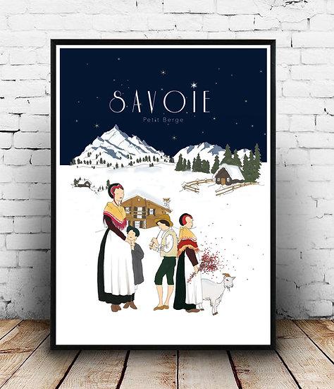 Affiche Savoie