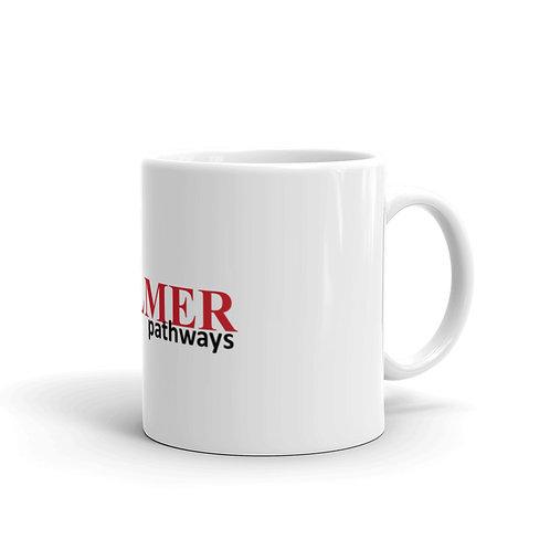 Pathways White glossy mug