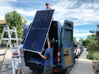 325 Watt Panel Install