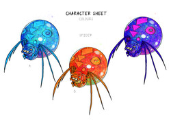 Final Spider_Colour Examples_A3