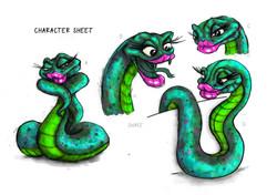 Final Colour Snake_A3