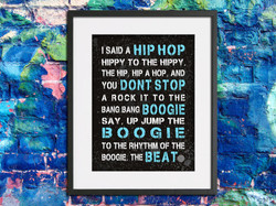 boogie beat Hip-hop-lyrics-word-art-boyf