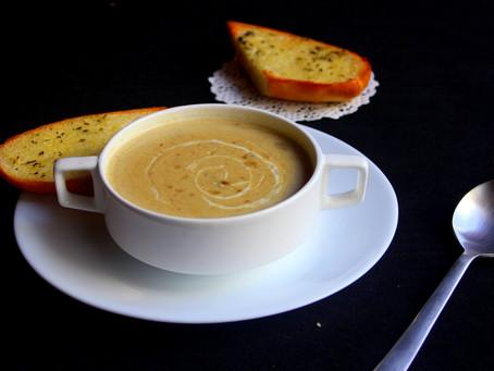 Celery & Chestnut Soup