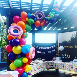 Donut Balloon Garland