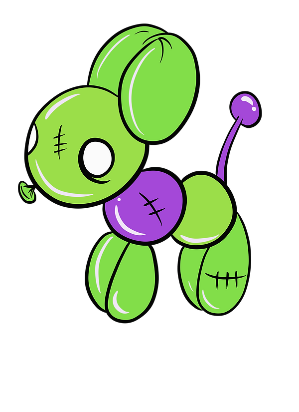Spooksie Boo's Balloon Dog