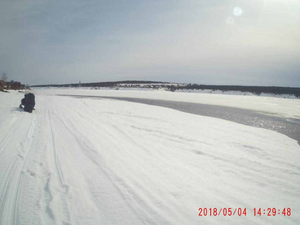 5 мая осталось пять дней и река вскроется