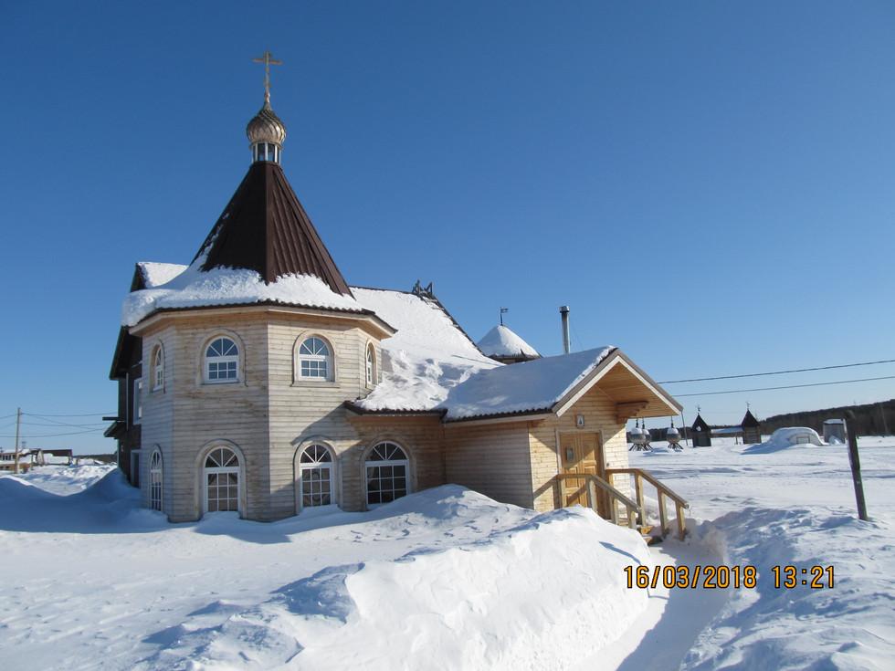 Варзуга зима