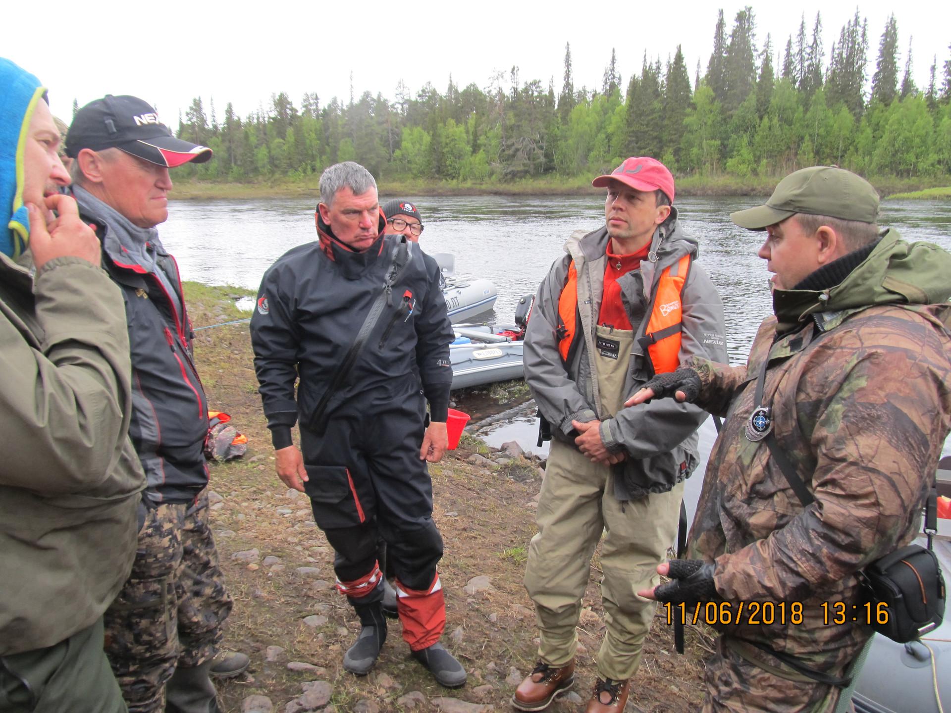 Беседа по соблюдению Правил рыболовства