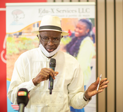 M Bai-Mass Taal, Directeur Edu-X Senegal