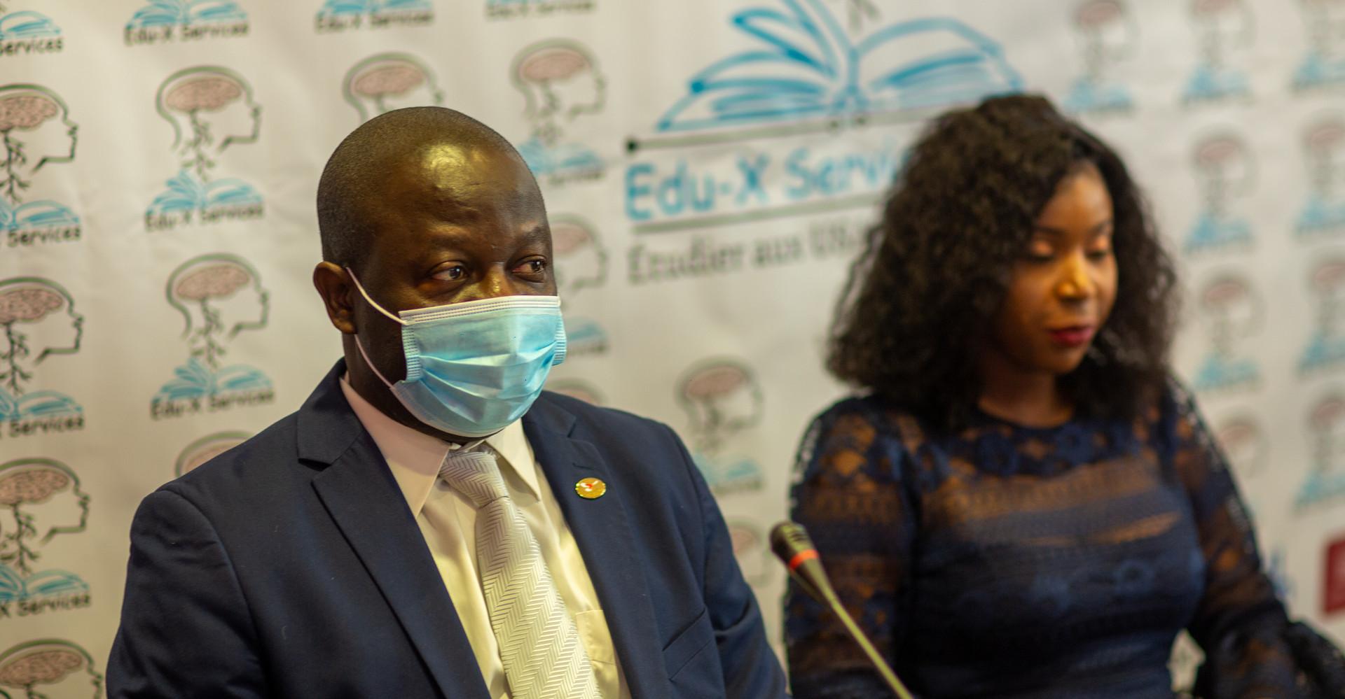 M Guy Djoken président de la fédération des clubs et centres UNESCO des Etats-unis