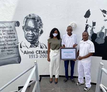 Partnership: Lycée d'Excellence Aimé Césaire