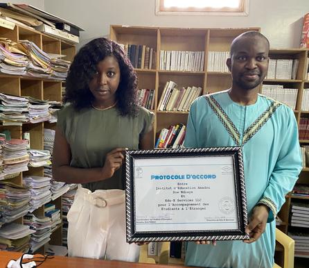Partnership: Institut d'Education Amadou SOW Ndiaye