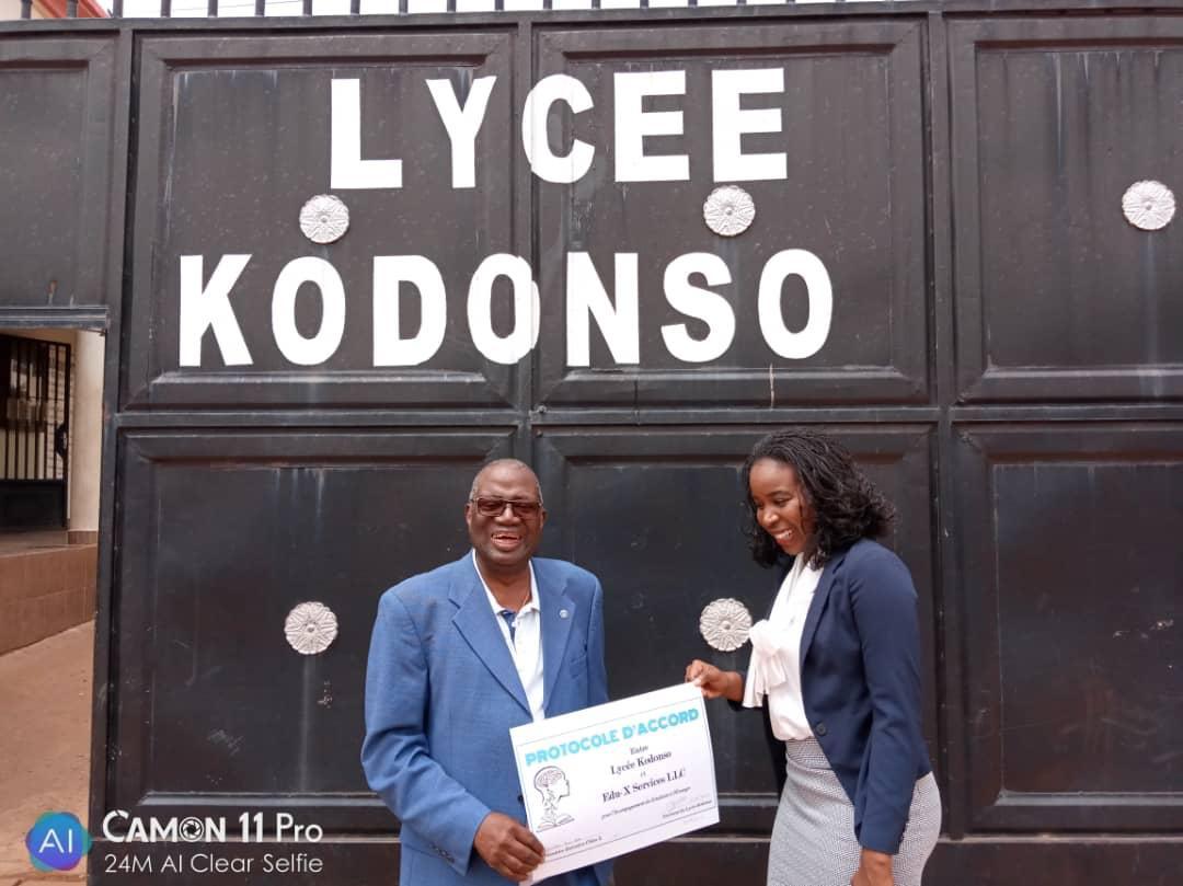 Partnership: Lycée Kodonso