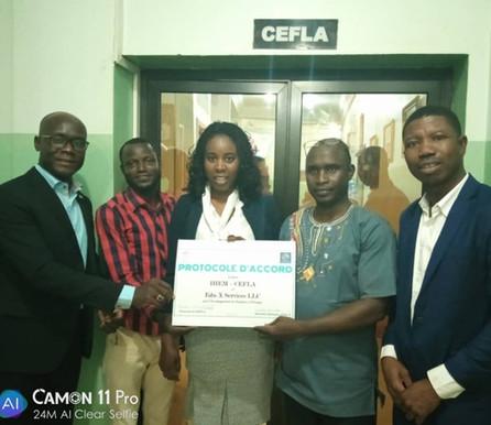 Partnership: University IHEM-CEFLA