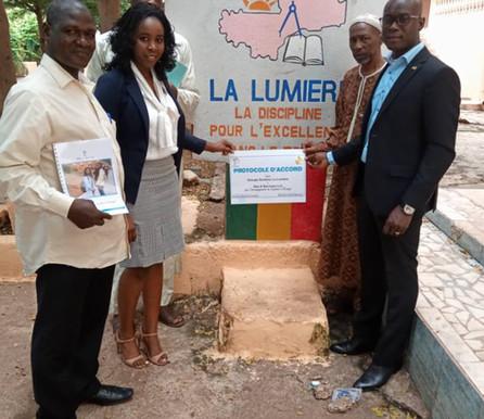 Partnership: Groupe Scolaire la Lumière
