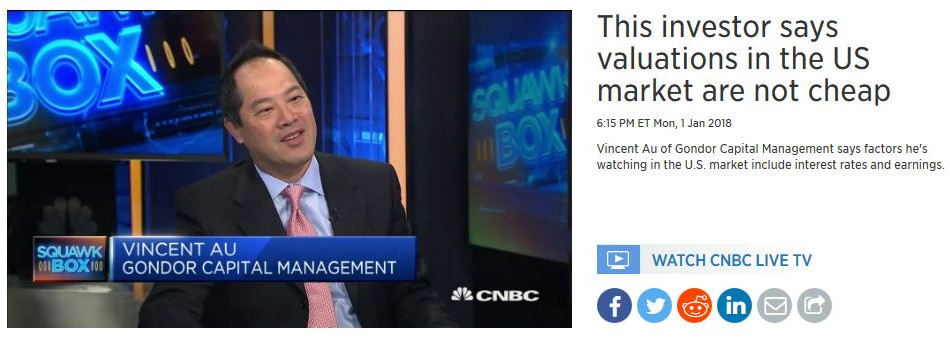 This investor says valuations in the US market are not cheap