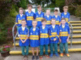 hurling team boys