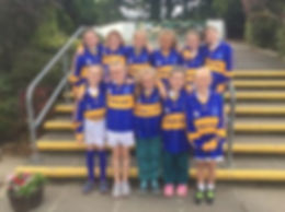 Hurling team girls
