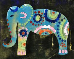 Boho Elephant 2