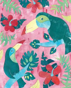 Tropical Toucans I