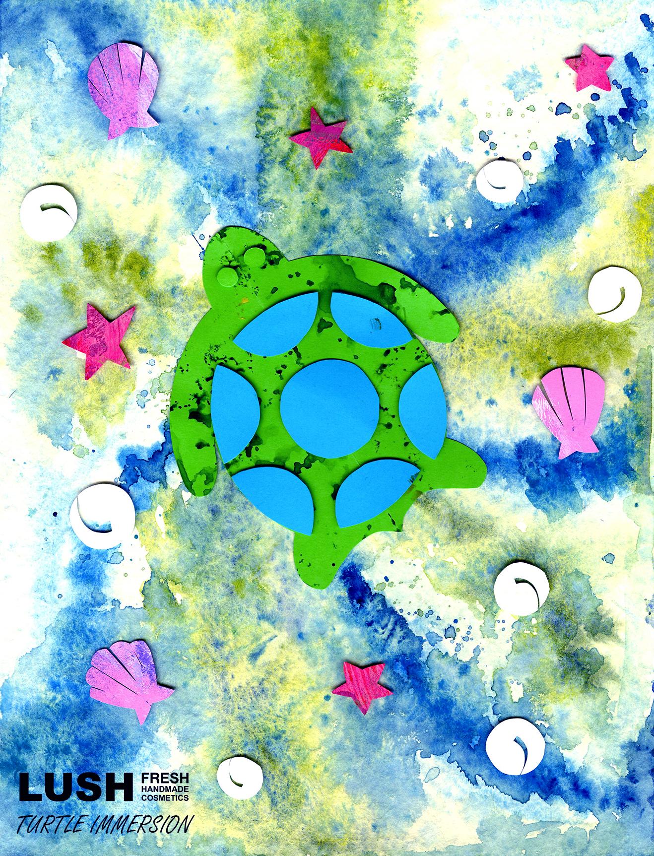 Turtle Immersion Bath Bomb