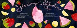 Strawberry Watermelon Pops