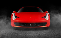 6974588-red-car-ferrari-458-italia-photo