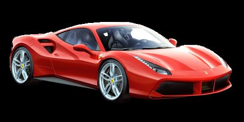PNGPIX-COM-Red-Ferrari-488-GTB-Car-PNG-I