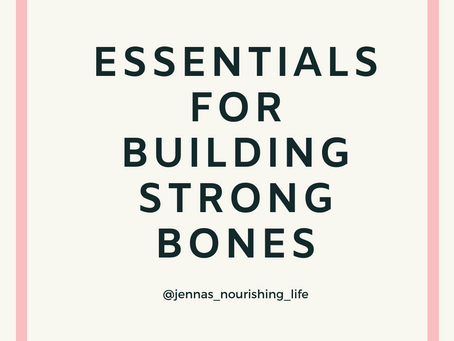 Essential Nutrients for Building Strong Bones