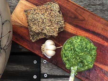 Dairy Free Herby Pesto