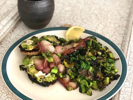 Bacon & Greens Brunch