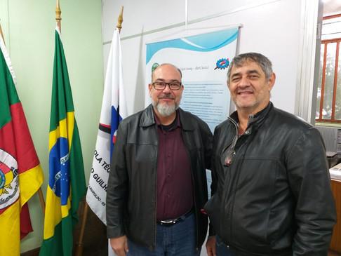CRT-RS visita a Escola Técnica Frederico Guilherme Schmidt