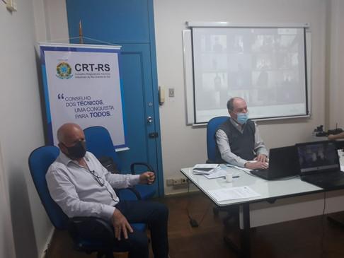 Sessão Plenária aprova o retorno do atendimento presencial da Equipe CRT-RS