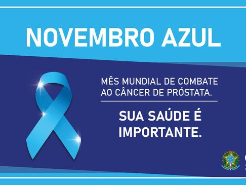 Novembro Azul: Sua saúde é importante