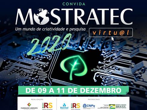 Mostratec Virtu@l 2020 (Mostra Internacional de Ciência e Tecnologia) será dias 9 a 11 de dezembro