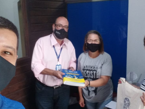 CRT-RS realiza visita à Escola Prudente de Morais