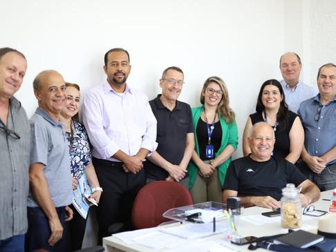 CRT-MG participa de reunião de diretoria do CRT-RS