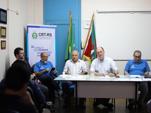 4ª Plenária Ordinária é realizada no CRT-RS
