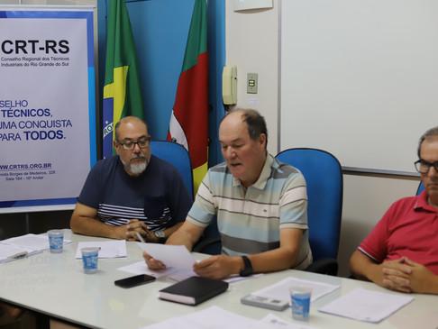 Sessão Plenária do CRT-RS discute readequações no Regimento Interno e institui Grupo de Trabalho