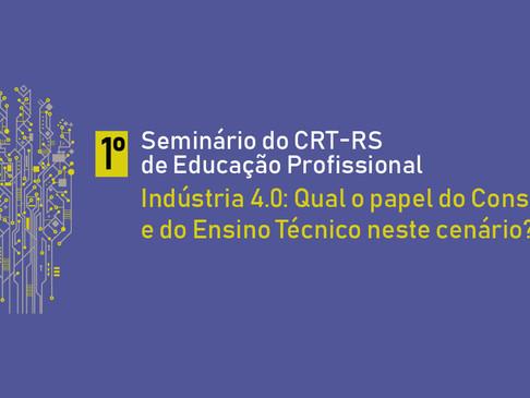 Conselho realizará I Seminário do CRT-RS de Educação Profissional