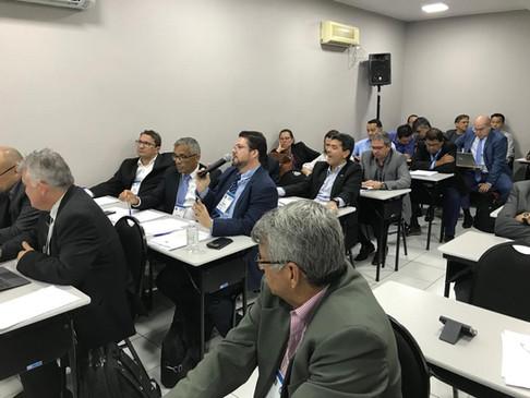 Conselheiro Federal do RS Marcelo Valandro participa de Plenária do CFT
