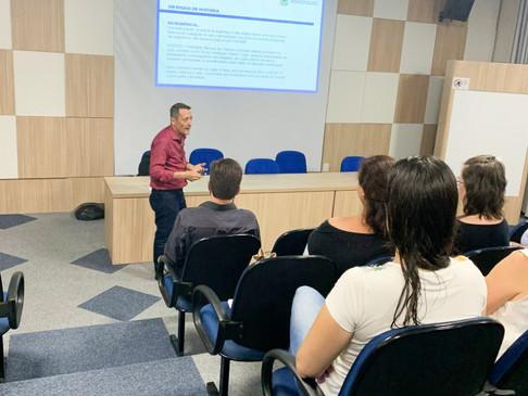 CRT-RS conversa com alunos da Escola Bom Pastor